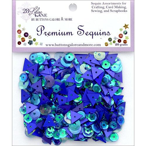 28 Lilac Lane - Premium Sequins - Denim