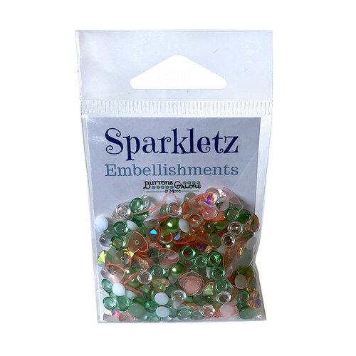 Buttons Galore - Sparkletz Collection - Embellishments - Cactus