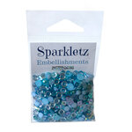 Buttons Galore - Sparkletz Collection - Embellishments - Ocean Waves