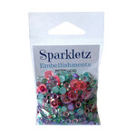 Buttons Galore - Sparkletz Collection - Embellishments - Mermaid