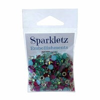 Buttons Galore - Sparkletz Collection - Embellishments - Aloha