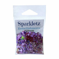 Buttons Galore - Sparkletz Collection - Embellishments - Jellyfish