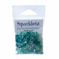 Buttons Galore - Sparkletz Collection - Embellishments - Sea Level