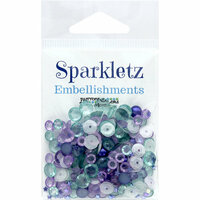 Buttons Galore - Sparkletz Collection - Embellishments - Sailors Sky