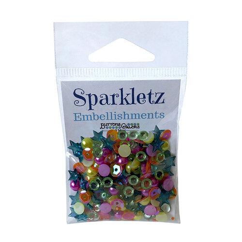 Buttons Galore - Sparkletz Collection - Embellishments - Rainbow