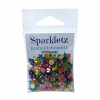 Buttons Galore - Sparkletz Collection - Embellishments - Rainbow