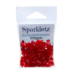 Buttons Galore - Sparkletz Collection - Embellishments - Red Hearts