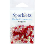 Buttons Galore - Sparkletz Collection - Embellishments - Love Hearts