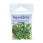 Buttons Galore - Sparkletz Collection - Embellishments - Winters Evergreen