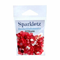 Buttons Galore - Sparkletz Collection - Embellishments - Peppermint Jazz