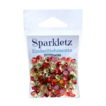 Buttons Galore - Christmas - Sparkletz Collection - Embellishments - Home Spun Holiday