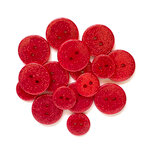Buttons Galore - Sugar Shoppe Collection - Ruby Slippers