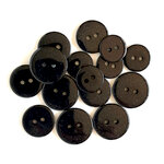Buttons Galore - Sugar Shoppe Collection - Onyx