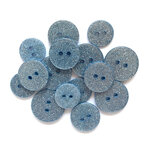 Buttons Galore - Sugar Shoppe Collection - Blue Lagoon