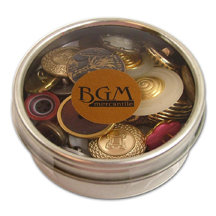 Buttons Galore - Button Tins Mix - Genuine Vintage