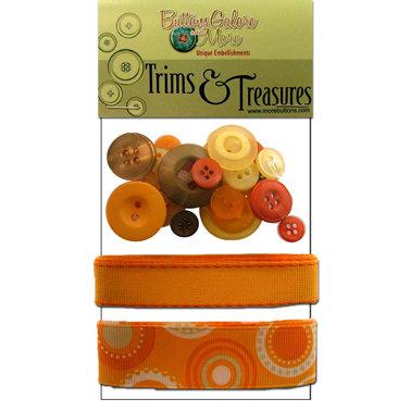 Buttons Galore - Trims and Treasures - Sunburst