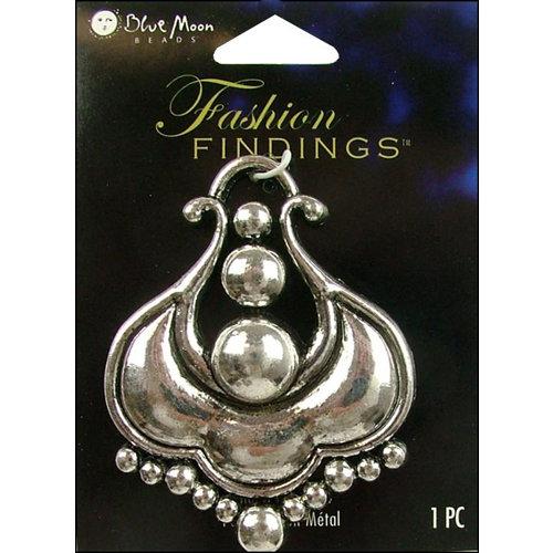Blue Moon Beads - Fashion Findings - Metal Jewelry Pendant - U Shape - Silver
