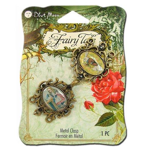Blue Moon Beads - Fairy Tale - Metal Jewelry Clasp - Mr. Rabbit - Ox Brass