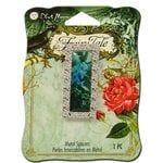 Blue Moon Beads - Fairy Tale - Metal Jewelry Spacer - Flower 2 - Silver