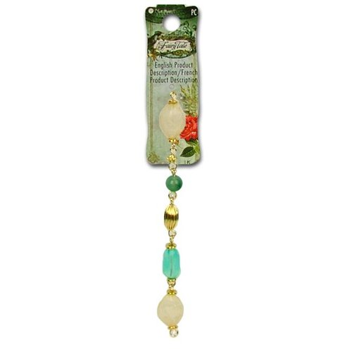 "Blue Moon Beads - Fairy Tale - Jewelry Bead Strand - 7.5"" Acrylic and Metal - Multi 3"