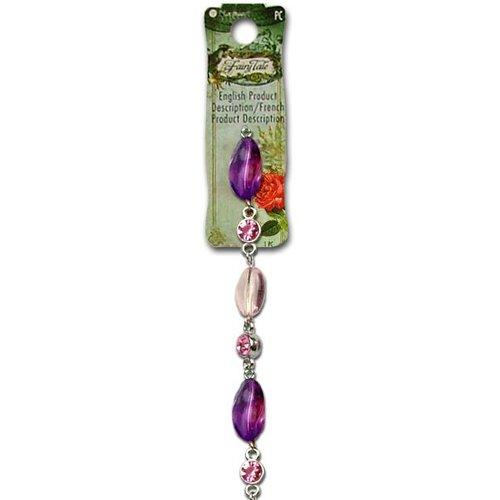 "Blue Moon Beads - Fairy Tale - Jewelry Bead Strand - 7.5"""""""" Acrylic and Metal - Multi 5"