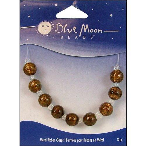 Blue Moon Beads - Art Glass - Jewelry Beads - Round - Swirl - Multi 5