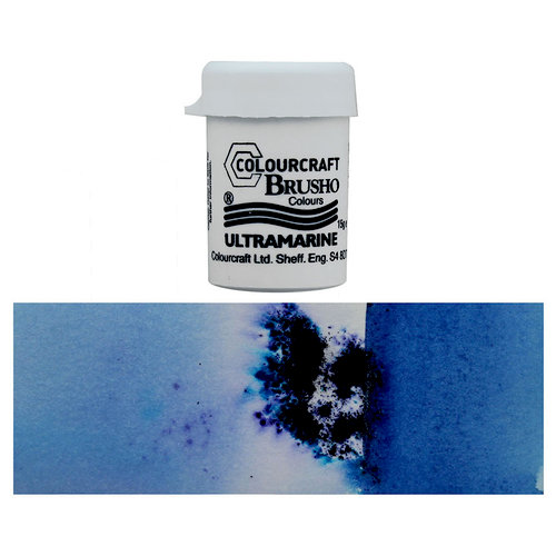 Colourcraft - Brusho - Crystal Colour - Ultramarine