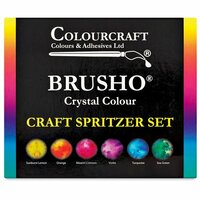 Colourcraft - Brusho - Crystal Colour - Set of 6