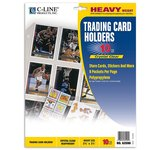 C-Line - Memory Book - Page Protectors - Trading Card Holders - 10 Pack