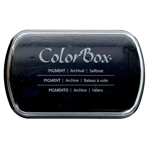 ColorBox - Pigment Ink Pad - Sailboat