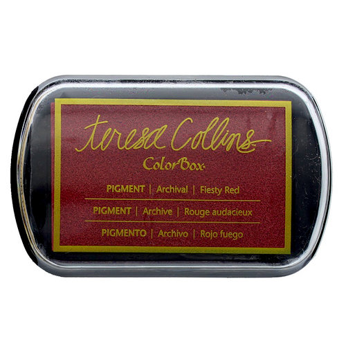 ColorBox - Pigment Ink Pad - Feisty Red