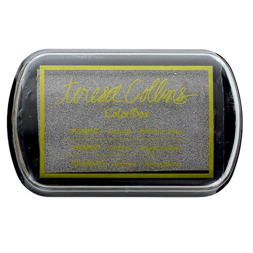 ColorBox - Pigment Ink Pad - Platinum Silver