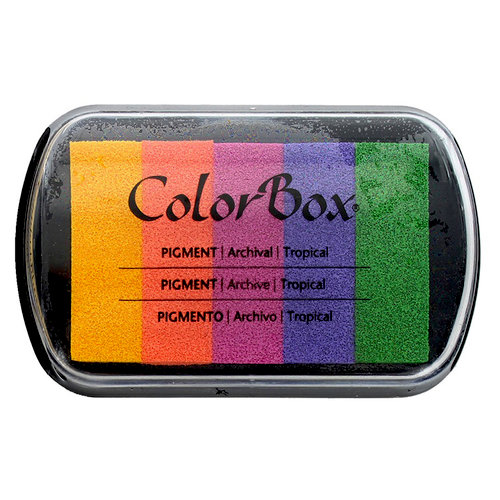 ColorBox - Pigment Ink Pad - 5 Color - Tropical