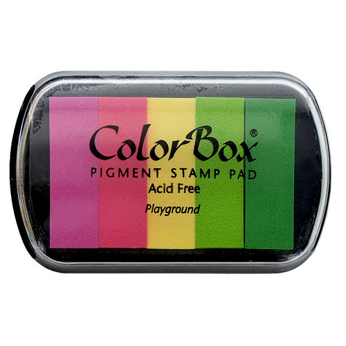 ColorBox - Pigment Ink Pad - 5 Color - Playground
