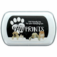 ColorBox - Paw Prints Collection - Ink Pad - Black