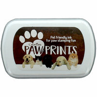 ColorBox - Paw Prints Collection - Ink Pad - Brown