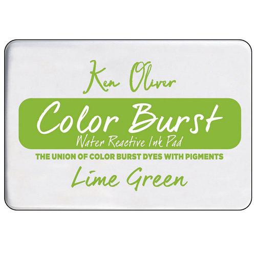 Ken Oliver - Color Burst - Water Reactive Ink Pad - Lime Green