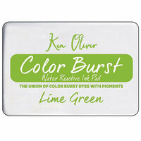 Ken Oliver - Color Burst - Water Reactive Ink Pad - Lime Green