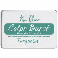 Ken Oliver - Color Burst - Water Reactive Ink Pad - Turquoise