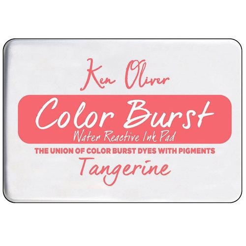 Ken Oliver - Color Burst - Water Reactive Ink Pad - Tangerine