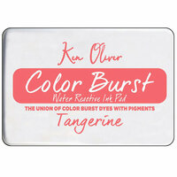 Ken Oliver - Color Burst - Water Reactive Ink Pad - Tangerine