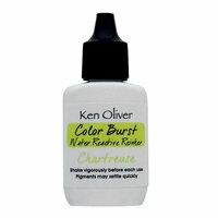 Ken Oliver - Color Burst - Water Reactive Reinker - Chartreuse