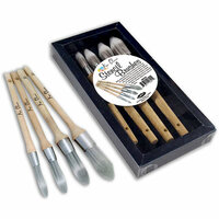 Ken Oliver - Stencil Brushes - 4 Pack