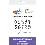 Ken Oliver - Pegz Clickable Stamp Set - Numbers