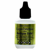 Ken Oliver - Liquid Metals - Antique Gold