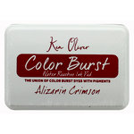 Ken Oliver - Color Burst - Water Reactive Ink Pad - Alizarin Crimson