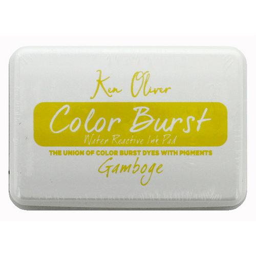 Ken Oliver - Color Burst - Water Reactive Ink Pad - Gamboge