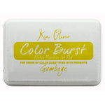Ken Oliver - Color Burst - Water Reactive Ink Pad - Gamboge