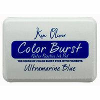 Ken Oliver - Color Burst - Water Reactive Ink Pad - Ultramarine Blue