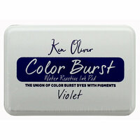 Ken Oliver - Color Burst - Water Reactive Ink Pad - Violet